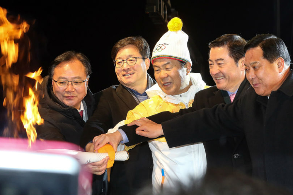 olympic-torch-arrives-in-gyeonggi-will-brighten-the-province-until-january-20